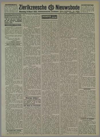 Zierikzeesche Nieuwsbode 1932-03-14