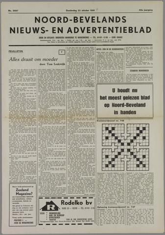 Noord-Bevelands Nieuws- en advertentieblad 1981-10-22
