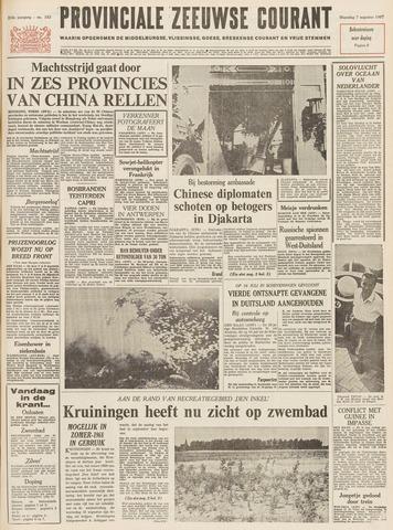 Provinciale Zeeuwse Courant 1967-08-07