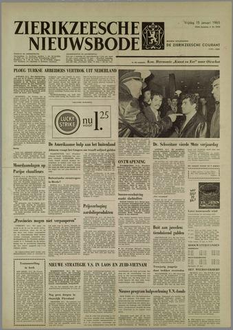 Zierikzeesche Nieuwsbode 1965-01-15
