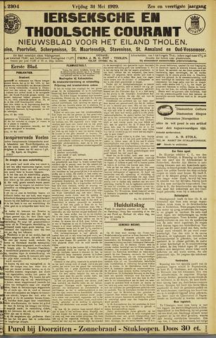 Ierseksche en Thoolsche Courant 1929-05-31