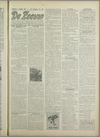 De Zeeuw. Christelijk-historisch nieuwsblad voor Zeeland 1943-04-09