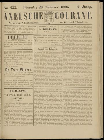 Axelsche Courant 1888-09-26