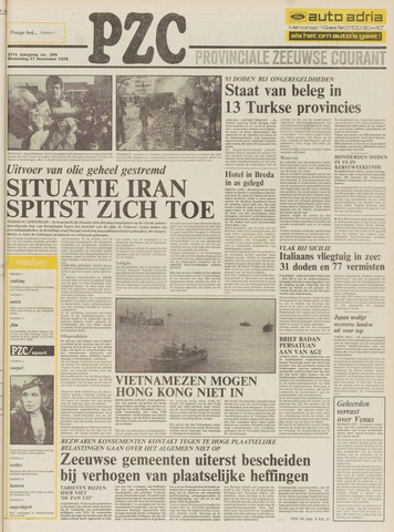 Provinciale Zeeuwse Courant 1978-12-27