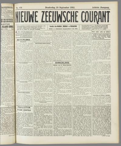 Nieuwe Zeeuwsche Courant 1912-09-19