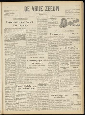 de Vrije Zeeuw 1957-02-09
