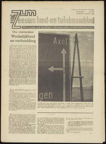 Zeeuwsch landbouwblad ... ZLM land- en tuinbouwblad 1965-06-11