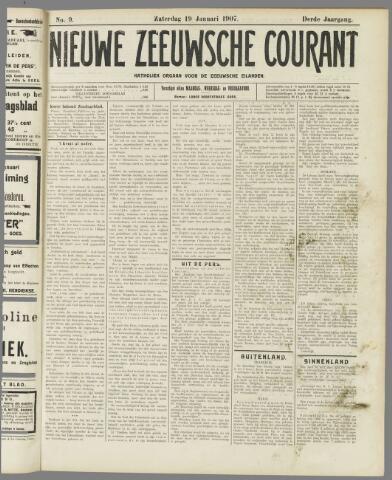 Nieuwe Zeeuwsche Courant 1907-01-19