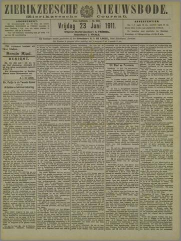 Zierikzeesche Nieuwsbode 1911-06-23