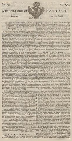 Middelburgsche Courant 1763-04-23