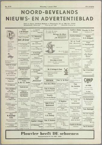 Noord-Bevelands Nieuws- en advertentieblad 1964