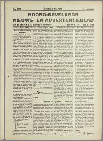 Noord-Bevelands Nieuws- en advertentieblad 1948-06-05
