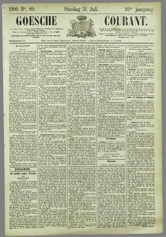 Goessche Courant 1906-07-31