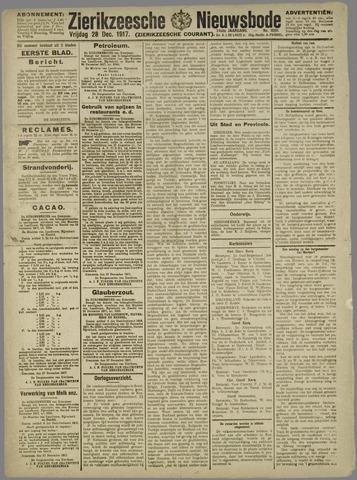 Zierikzeesche Nieuwsbode 1917-12-28