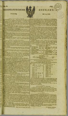 Middelburgsche Courant 1817-07-24