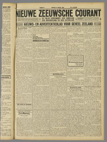 Nieuwe Zeeuwsche Courant 1929-03-26