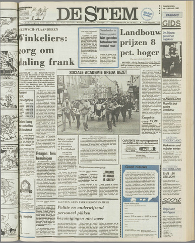 de Stem 1981-02-19