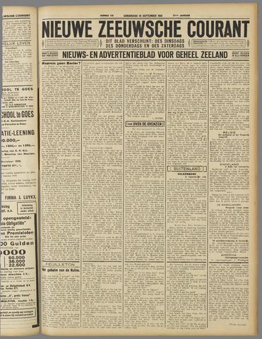 Nieuwe Zeeuwsche Courant 1931-09-10
