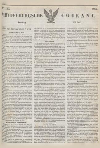 Middelburgsche Courant 1867-07-28