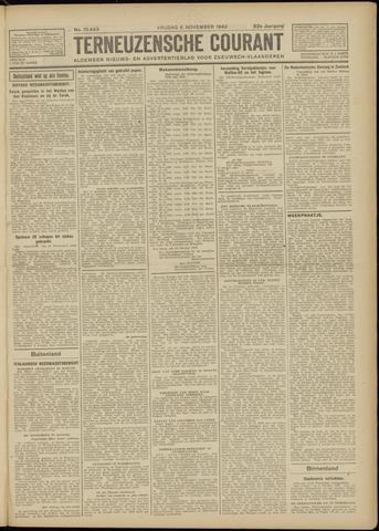 Ter Neuzensche Courant. Algemeen Nieuws- en Advertentieblad voor Zeeuwsch-Vlaanderen / Neuzensche Courant ... (idem) / (Algemeen) nieuws en advertentieblad voor Zeeuwsch-Vlaanderen 1942-11-06