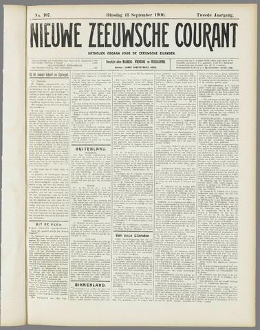Nieuwe Zeeuwsche Courant 1906-09-11