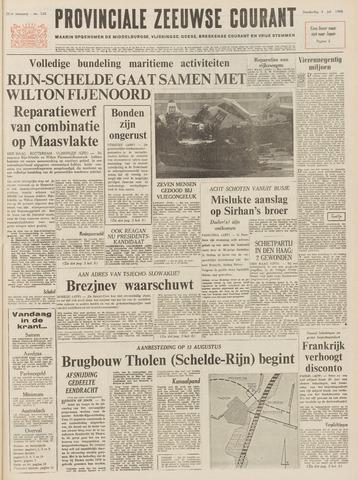 Provinciale Zeeuwse Courant 1968-07-04