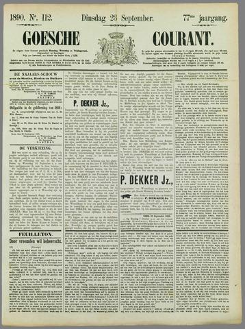 Goessche Courant 1890-09-23