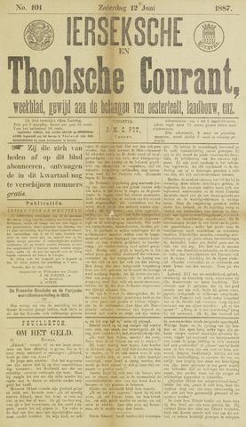 Ierseksche en Thoolsche Courant 1887-06-12