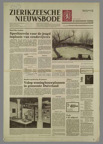 Zierikzeesche Nieuwsbode 1982-01-22