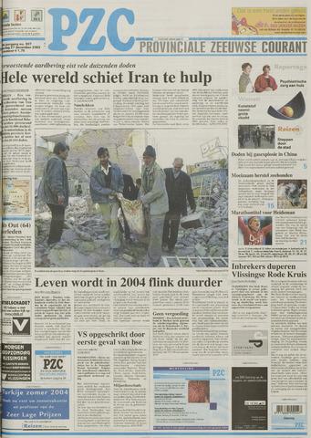 Provinciale Zeeuwse Courant 2003-12-27