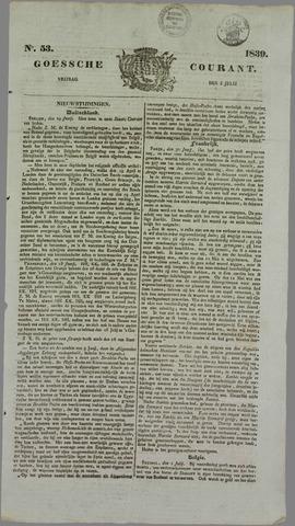 Goessche Courant 1839-07-05