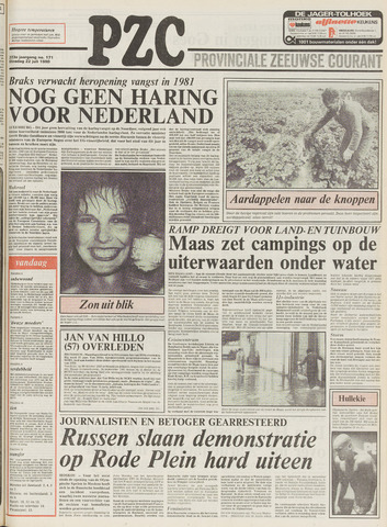 Provinciale Zeeuwse Courant 1980-07-22