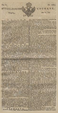 Middelburgsche Courant 1775-07-18