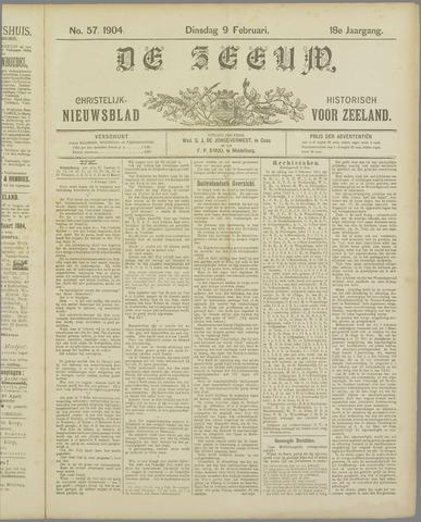 De Zeeuw. Christelijk-historisch nieuwsblad voor Zeeland 1904-02-09