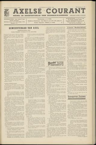 Axelsche Courant 1962-04-28