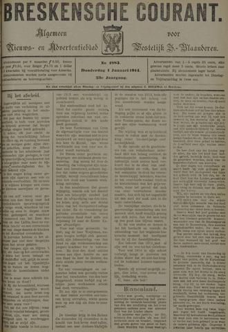 Breskensche Courant 1914