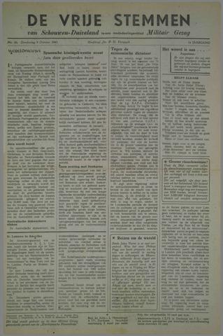 Vrije Stemmen van Schouwen-Duiveland, tevens mededeelingenblad Militair Gezag 1945-10-04