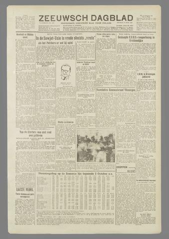 Zeeuwsch Dagblad 1949-09-27