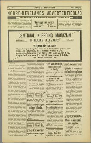 Noord-Bevelands Nieuws- en advertentieblad 1932-02-27