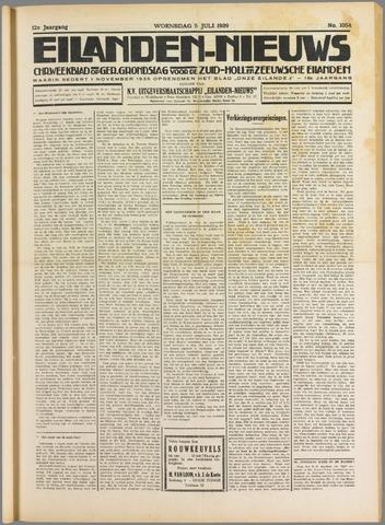 Eilanden-nieuws. Christelijk streekblad op gereformeerde grondslag 1939-07-05