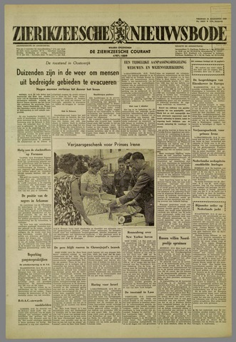 Zierikzeesche Nieuwsbode 1959-08-14