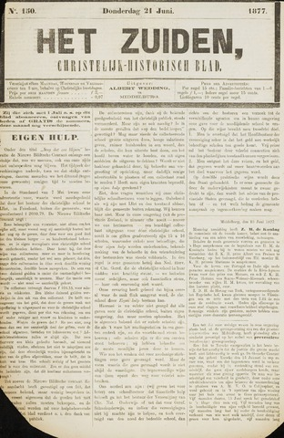 Het Zuiden, Christelijk-historisch blad 1877-06-21