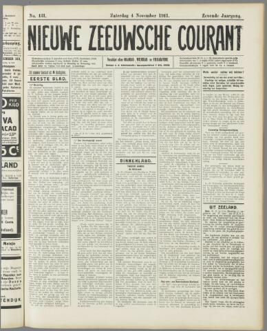 Nieuwe Zeeuwsche Courant 1911-11-04