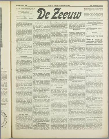 De Zeeuw. Christelijk-historisch nieuwsblad voor Zeeland 1934-07-20