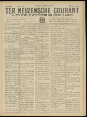 Ter Neuzensche Courant. Algemeen Nieuws- en Advertentieblad voor Zeeuwsch-Vlaanderen / Neuzensche Courant ... (idem) / (Algemeen) nieuws en advertentieblad voor Zeeuwsch-Vlaanderen 1938-02-04