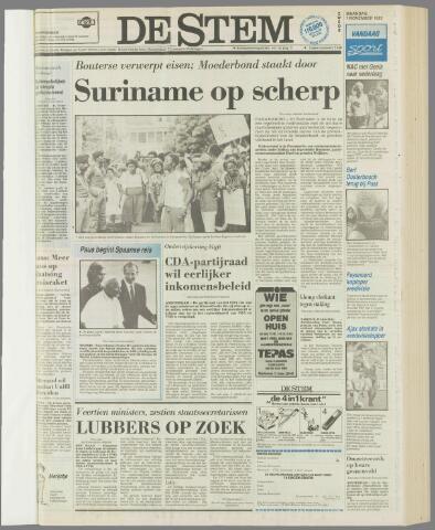 de Stem 1982-11-01