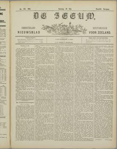De Zeeuw. Christelijk-historisch nieuwsblad voor Zeeland 1898-07-23
