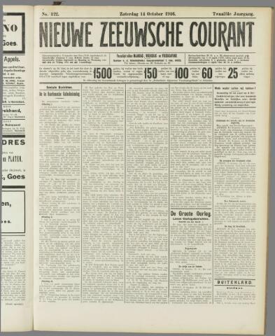Nieuwe Zeeuwsche Courant 1916-10-14
