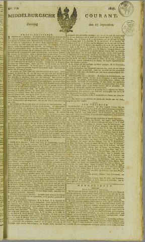 Middelburgsche Courant 1817-09-13