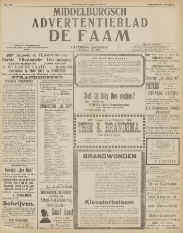 de Faam en de Faam/de Vlissinger 1915-08-25
